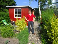 Min have i Nyttehaveforeningen Ellebakken i Valby