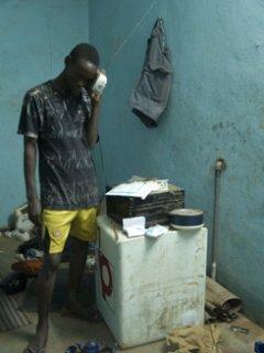 """Fotograf Salif Traore: foto fra serien """"Rêve non réalisée"""" der har vundet vundet prix Elan fra l'Agence Française de Développement (AFP) på den 8. fotobiennale i Bamako, Mali"""