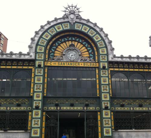 Banegården i Bilbao