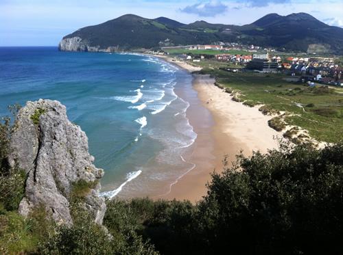 En af dagens smukke strande