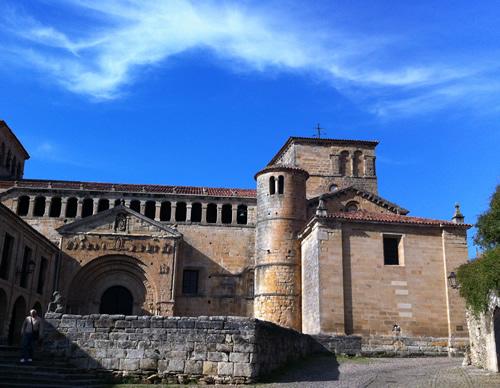 Klostret i Santillana del Mar