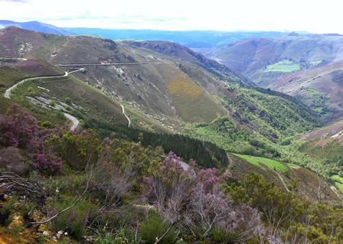Udsigt tæt ved Montefurado